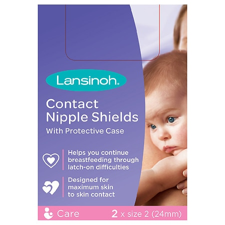 Lansinoh Nipple Shield - 2 ea