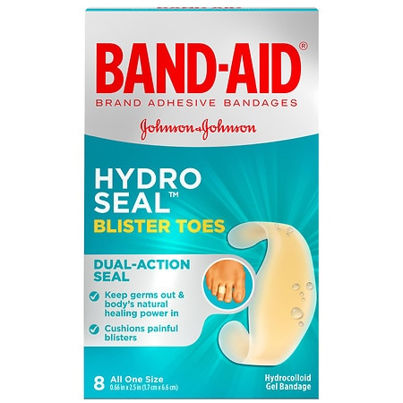 Band-Aid Hydro Seal Bandages Blister Toes - 8 ea