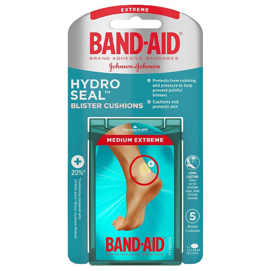 Band-Aid Hydro Seal Bandages Blister Cushions Medium Extreme | Walgreens