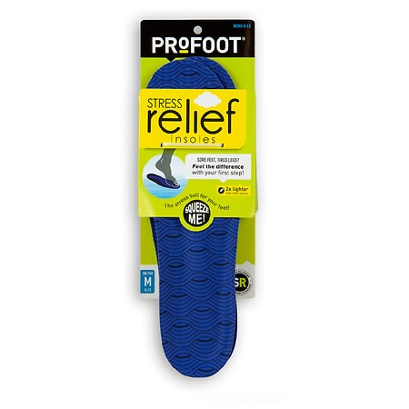 ProFoot Stress Relief Insole Men's Sizes 8-13 - 1 ea