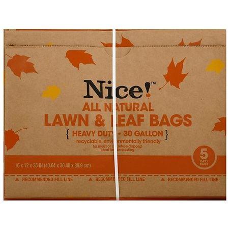 Nice Lawn Leaf Bags 30 Gallon