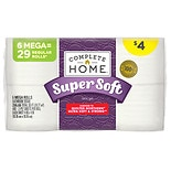 Complete Home Super Soft Bath Tissue 6 ct