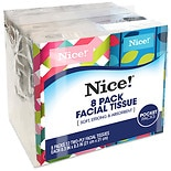 Nice! Facial Tissue White