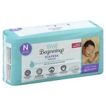 Well Beginnings Premium Diapers Newborn
