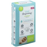 Well Beginnings Premium Diapers Size 1