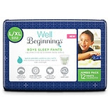 Well Beginnings Boys Sleep Pants Large/ X-Large