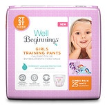 Well Beginnings Girls Training Pants 2T/ 3T