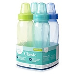 Evenflo Classic Tinted Polypropylene Bottles 8 oz Assorted