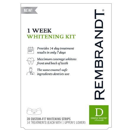 Rembrandt 1 Week Whitening Kit - 1 ea