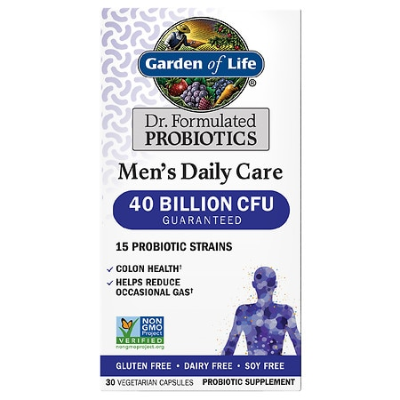 Garden of Life Dr. Formulated Men's Daily Care Probiotic Capsules - 30 EA