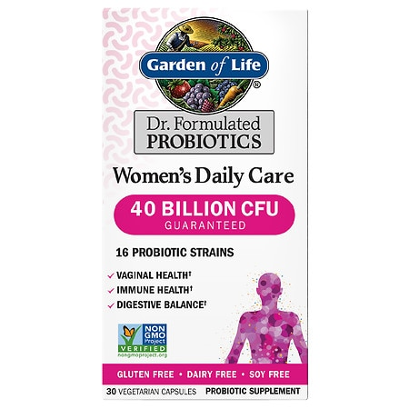 Garden of Life Dr. Formulated Women's Daily Care Probiotic Capsules - 30 EA