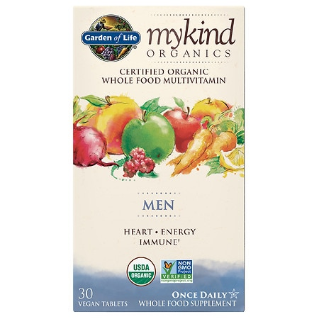 Garden of Life My Kind Organics Men Multivitamin - 30 EA