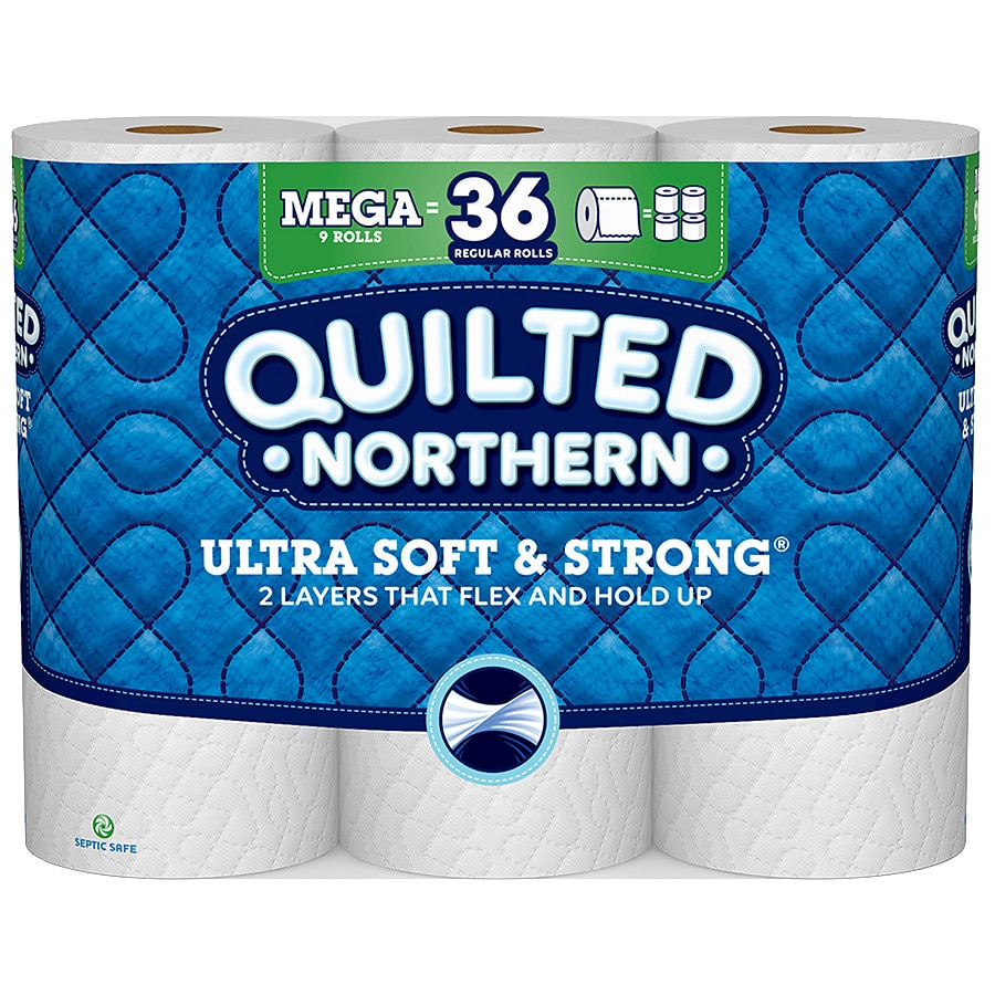 Quilted Northern Ultra Toilet Paper, Mega Rolls, Bath Tissue | Walgreens