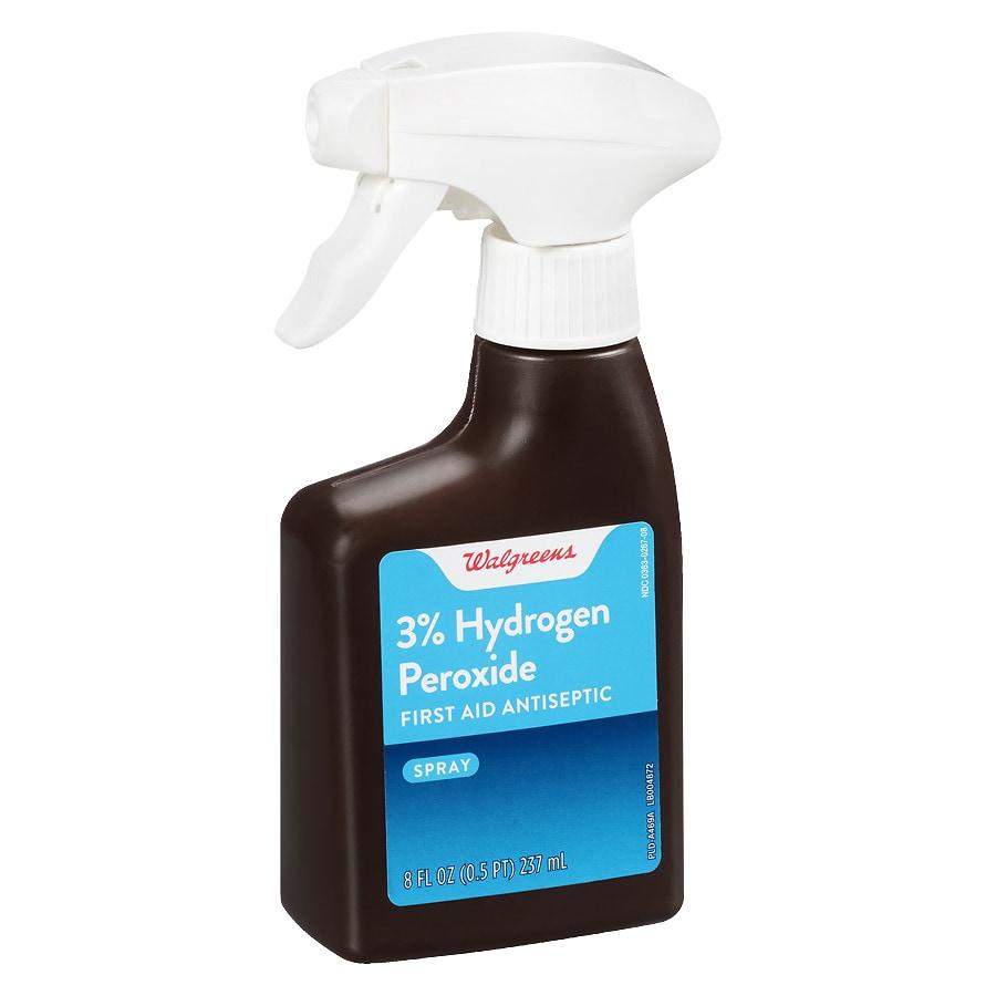 Walgreens Hydrogen Peroxide 3% Topical Solution USP Spray
