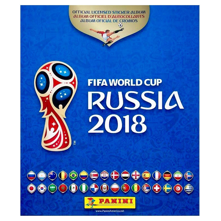 Panini world cup russia 2018 album special edition1 0 ea