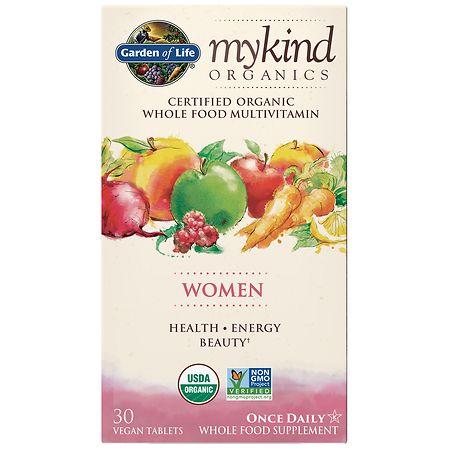 Garden of Life My Kind Organics Women Multivitamin - 30 EA