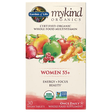 Garden of Life My Kind Organics Women 55+ Multivitamin - 30 EA