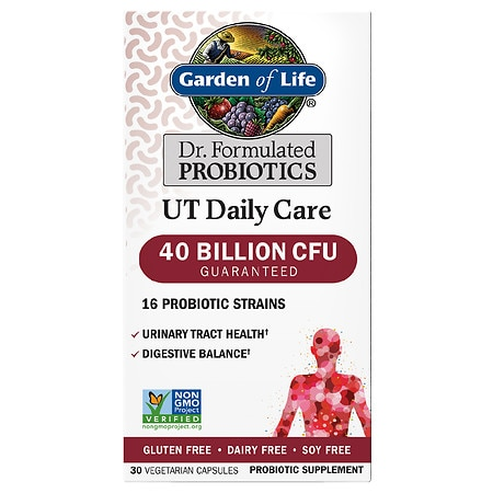 Garden of Life Dr. Formulated UT Daily Care Probiotic Capsules - 30 EA