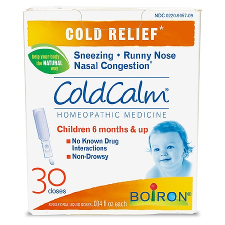 Boiron ColdCalm Cold Relief - 0.03 oz. x 30 pack
