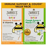 ZarBee's Naturals Baby Immune Support & Cough Value Pack Grape