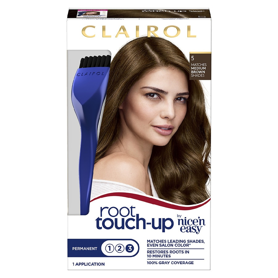 Clairol Nice N Easy Root Touch Up Permanent Hair Color5 Medium