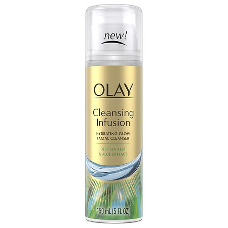 Olay Cleansing Infusion Facial Cleanser with Deep Sea Kelp5 oz