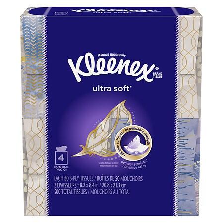 Kleenex Ultra Soft Facial Tissue - 200 ea