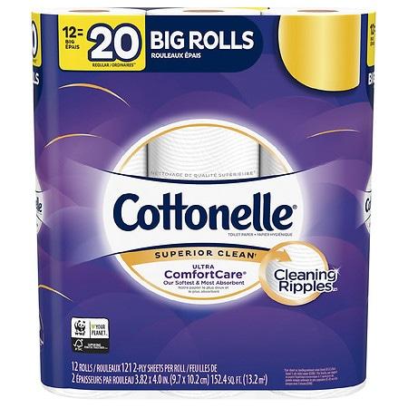 Cottonelle Ultra ComfortCare Toilet Paper - 126 ea x 12 pack