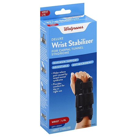 Walgreens Deluxe Wrist Stabilizer Large-Extra Large - 1 ea