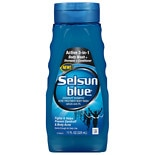 Selsun Blue Active 3 in 1 Dandruff Shampoo Acne Body Treatment