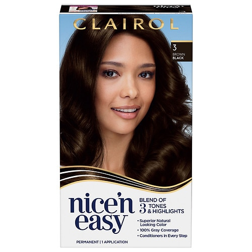 2-Count Clairol Nice 'n Easy Permanent Hair Color (various colors)