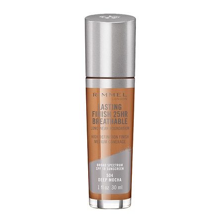 Rimmel Lasting Finish Breathable Foundation - 1 fl oz