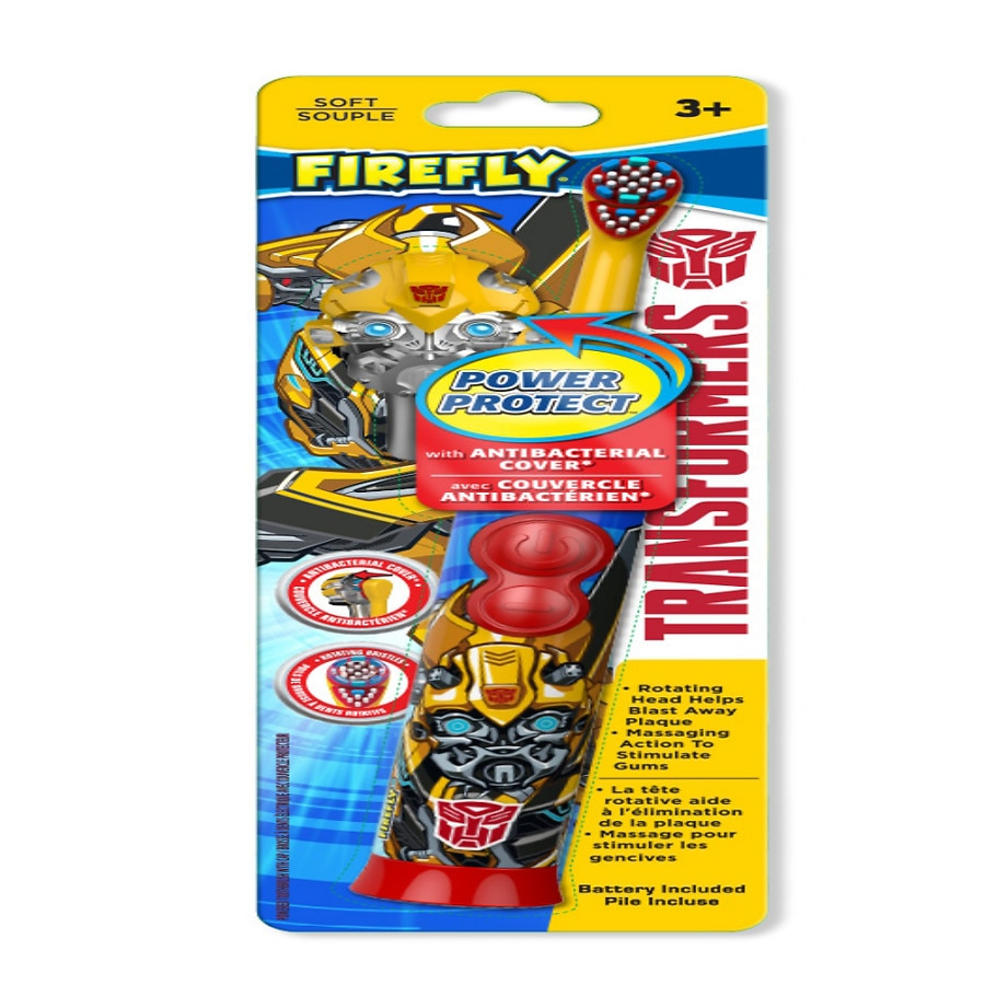 Firefly Kids! Transformers Battery Powered Toothbrush
