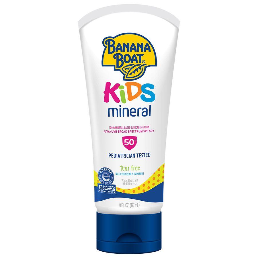 Banana Boat Simply Protect Kids Lotion Sunscreen SPF506 oz