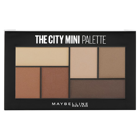 Maybelline New York The City Mini Eyeshadow Palette Makeup - 0.14 oz.