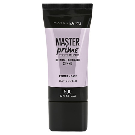 Maybelline New York FaceStudio Master Prime Primer Makeup SPF 30 - 1 fl oz