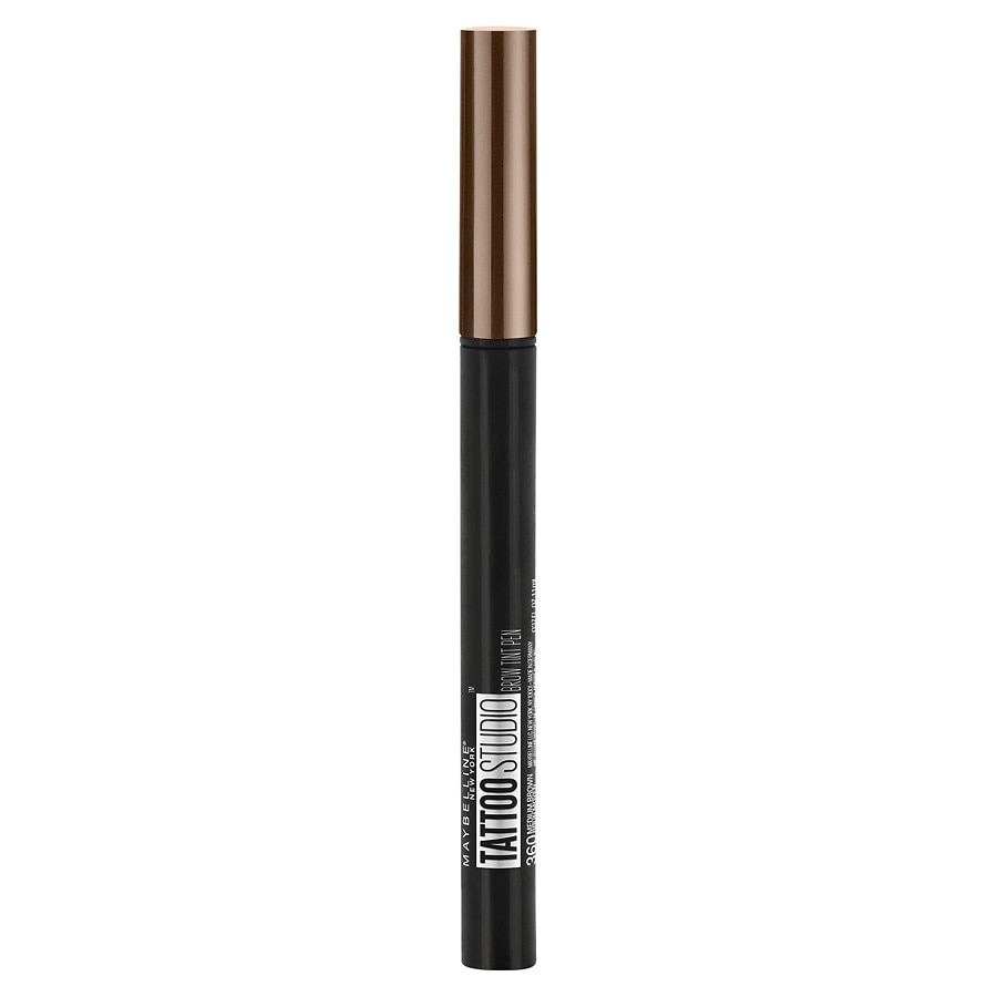 0703eb1ec7e Maybelline TattooStudio Brow Tint Pen Makeup, 360 Medium Brown ...