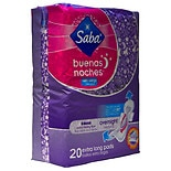 Saba Extra Long Overnight Maxi Pads With Wings