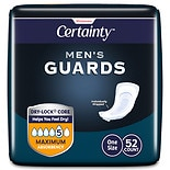 Walgreens Certainty Men's Guards, Maximum Absorbency