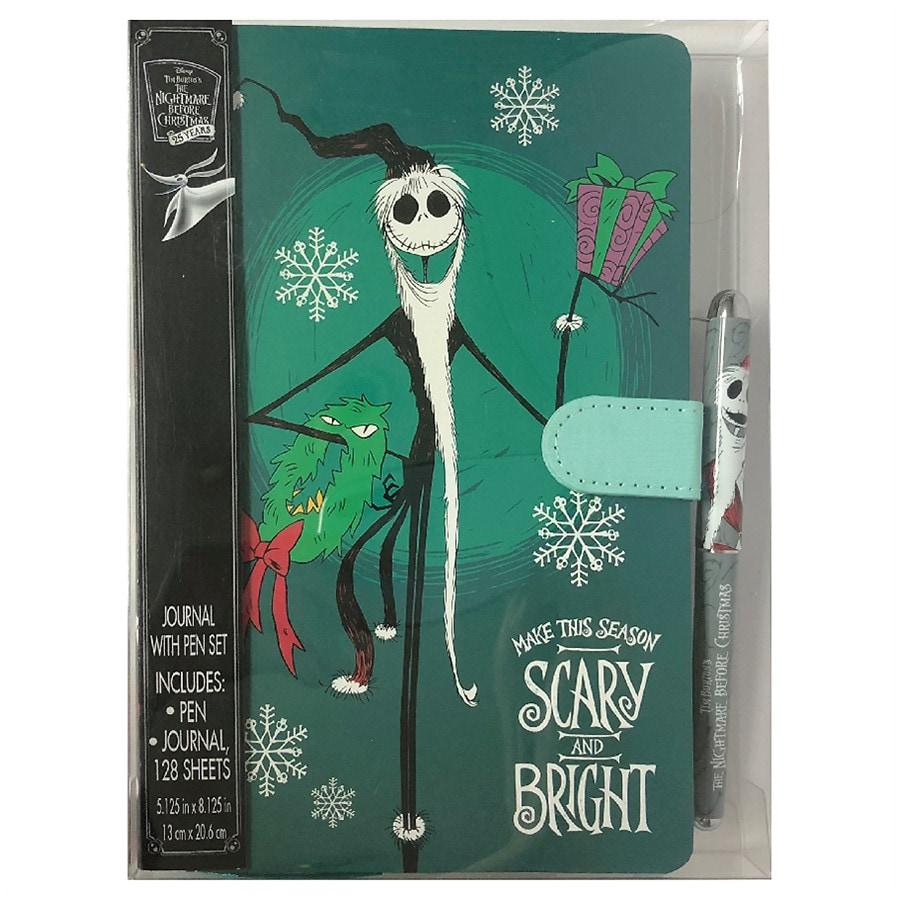 Disney Nightmare Before Christmas Santa Jack Journal | Walgreens