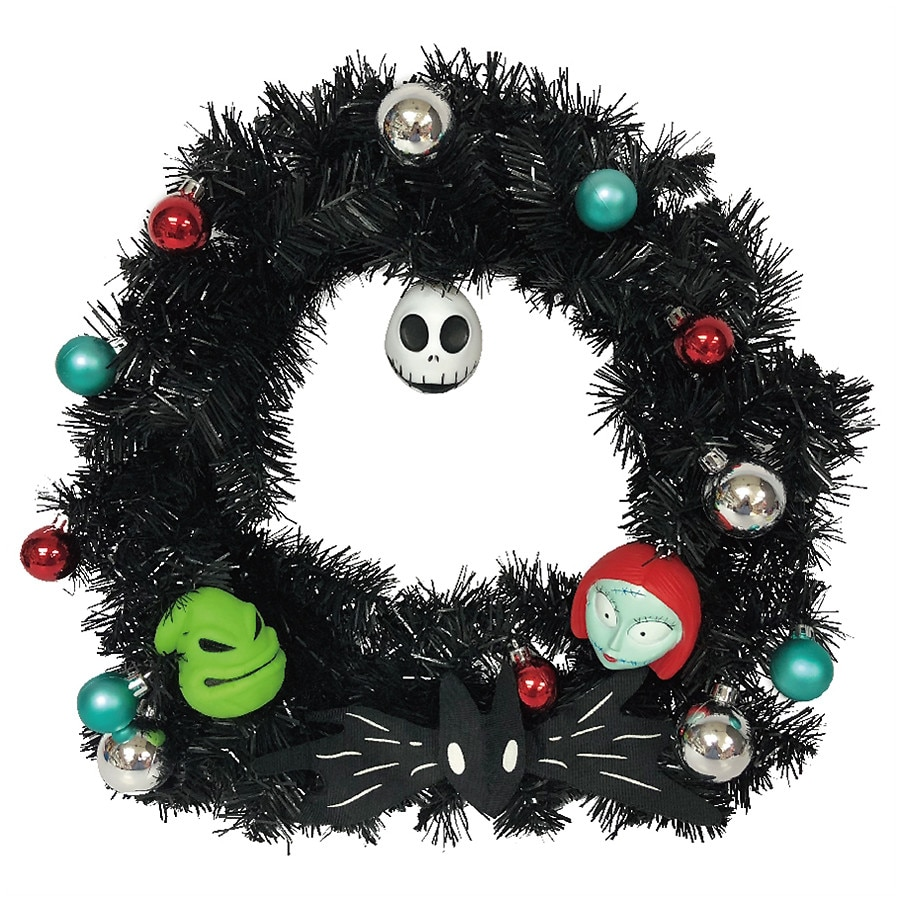 Disney Nightmare Before Christmas Decorated Wreath | Walgreens