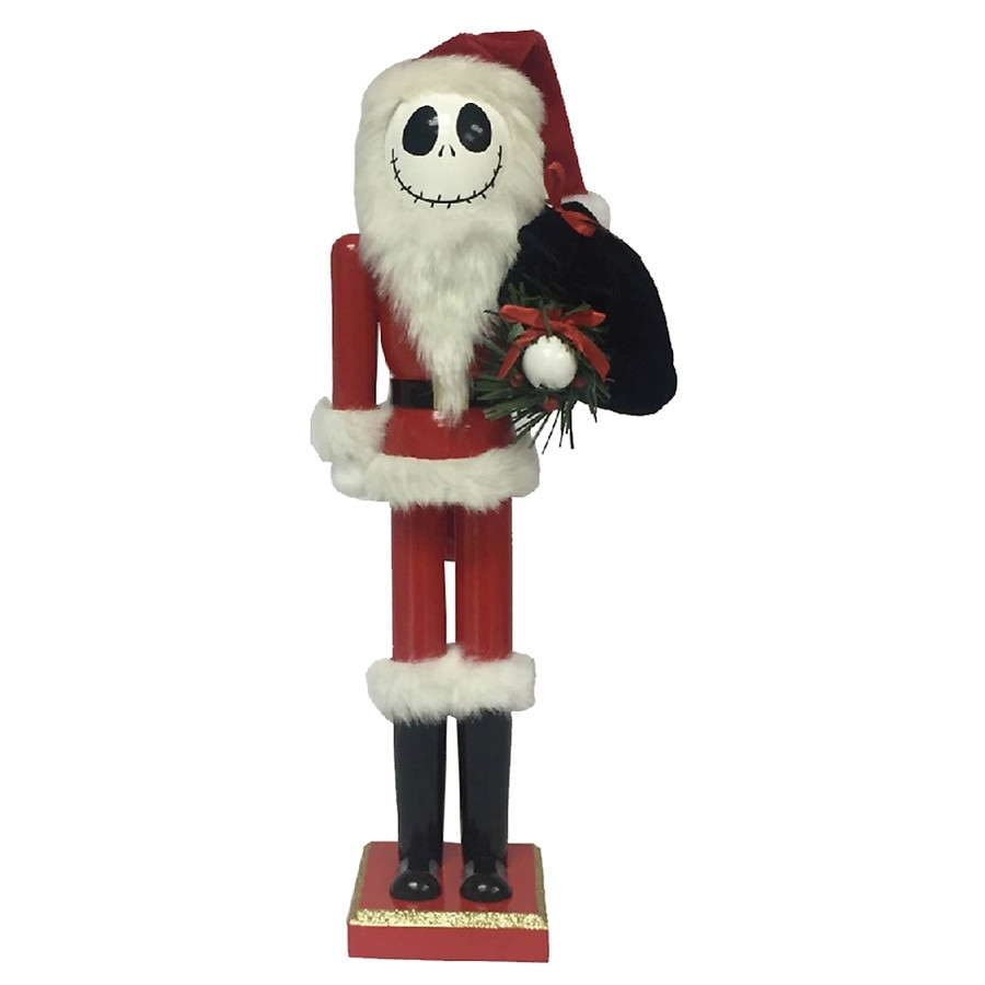 Disney Nightmare Before Christmas Santa Jack Nutcracker | Walgreens