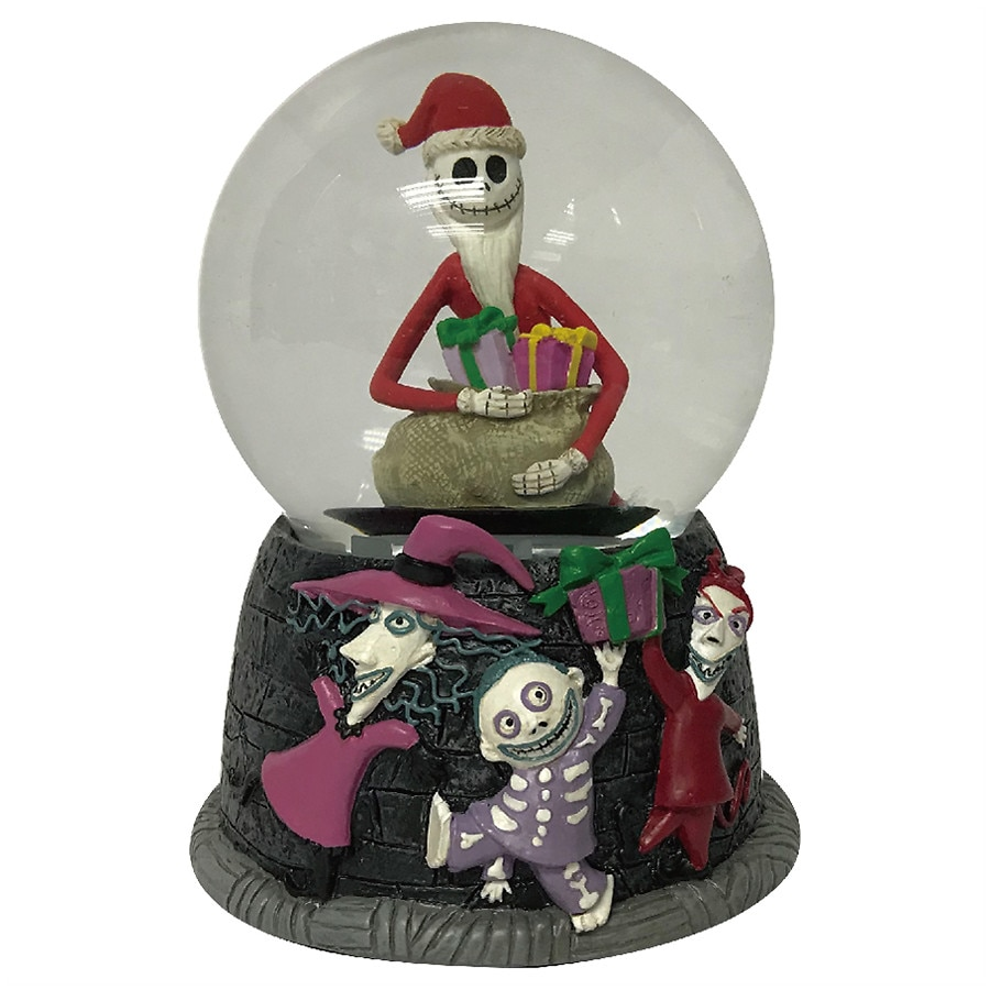 Disney Nightmare Before Christmas Santa Jack Musical Snomotion ...