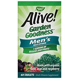 Nature's Way Alive! Garden Goodness Men's Multivitamin Tablets