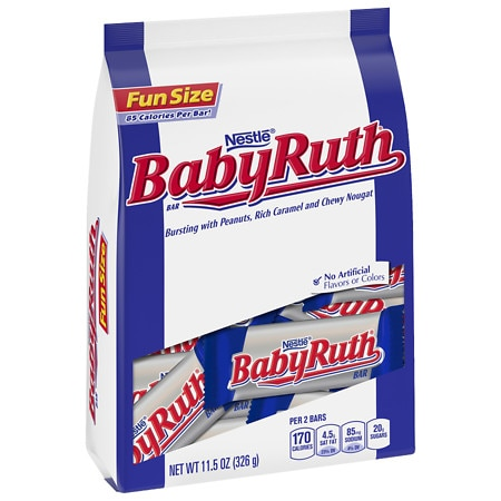 Baby Ruth Fun Size Candy Bars - 11.5 oz.