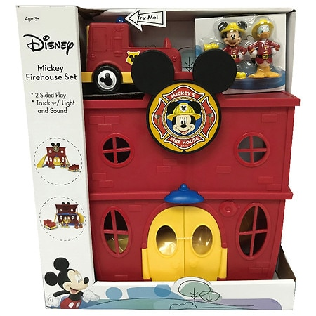 Disney Mickey Fire House Set with Light and Sound - 1 set