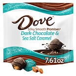 Dove Promises Sea Salt and Caramel Dark Chocolate Candy Bag