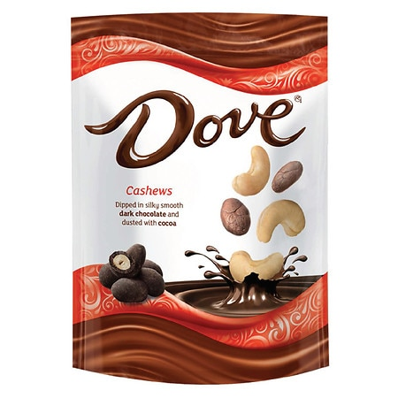 Dove Cashews With Cocoa and Dark Chocolate Candy - 5 oz.