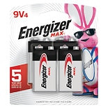 Energizer Max Batteries 9V