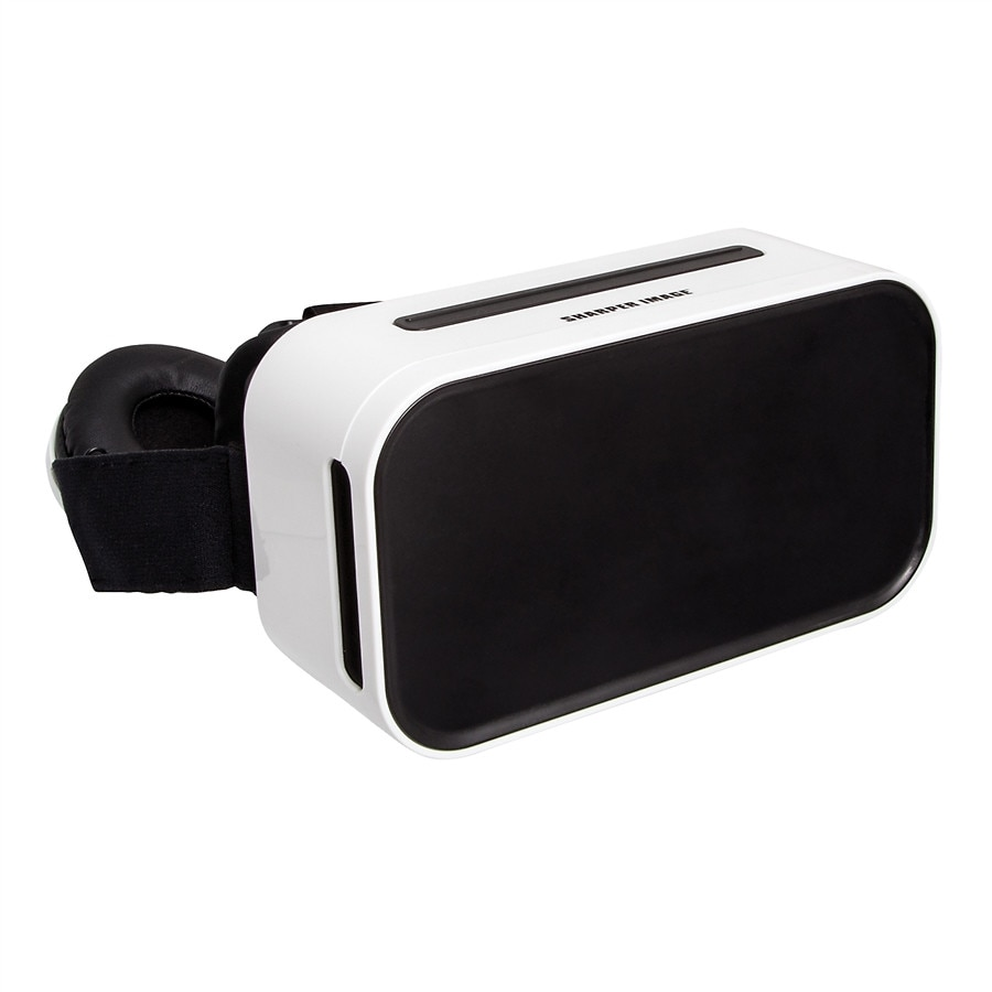 Sharper Image Virtual Reality Smartphone Viewer With Headphones